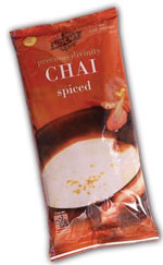 MOCAFE Precious Divinity Spiced Chai is a low fat creamy spiced tea mix.  Authentic, original naturally intoxicating blend of fresh ginger, clove, cardamom, cinnamon, wildflower honey and estate-grown Darjeeling black tea. Description:  Authentic, original and naturally intoxicating blends of the purest whole ground spices and estate grown tea produce the highest quality chai found anywhere in the world Kosher-Dairy certified Halal certified Made in the U.S.A Trans fat-free