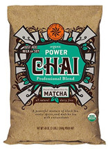 David Rio's (only completely) dairy-free, vegan chai is craft blended with black tea and Japanese matcha. Its rich and bold taste is enlivened with the traditional flavors of real chai spices including ginger, clove, cinnamon, star anise and cardamom. Powered with antioxidants from the matcha teas, it is delicately blended into a convenient mix.