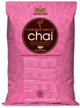 David Rio Flamingo Vanilla Decaf Sugar-Free Chai 3 Lb. Bag