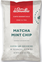 Cool mint meets milk chocolate chips, with a touch of Japanese matcha. NO HFCS, GLUTEN-FREE, SHELF-STABLE, NO PRESERVATIVES, SWEETENED WITH CANE SUGAR, NO ARTIFICIAL COLORS, FLAVORS OR SWEETENERS
