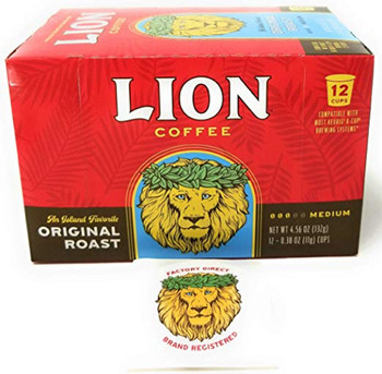 Original LION Coffee is noted for its subtle sweet taste and flawless smooth finish. This original coffee blend is created from hand selected coffee beans from specific growing regions. Original Lion Coffee blend has satisfied our customers and friends since 1864. Over the years, they come back to this coffee again and again. It's over a century of coffee roasting experience in your cup!