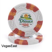Dunes Hotel Las Vegas $500 Commemorative Casino Chip