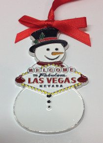 Snowman Holiday Ornament