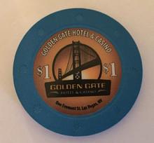 Golden Gate Hotel Las Vegas $1 Casino Chip
