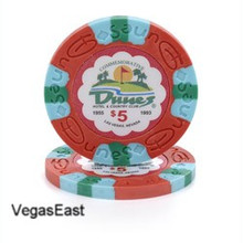 Dunes Hotel Las Vegas $5 Commemorative Casino Chip