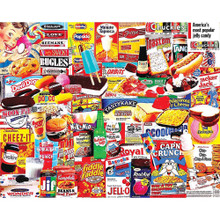 White Mountain Things I Ate As A Kid 1000 Piece Jigsaw Puzzle