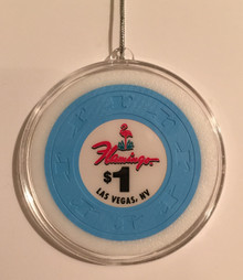 Flamingo Las Vegas Casino Chip Holiday Ornament