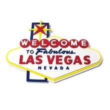 Welcome To Fabulous Las Vegas Foam Wall Sign