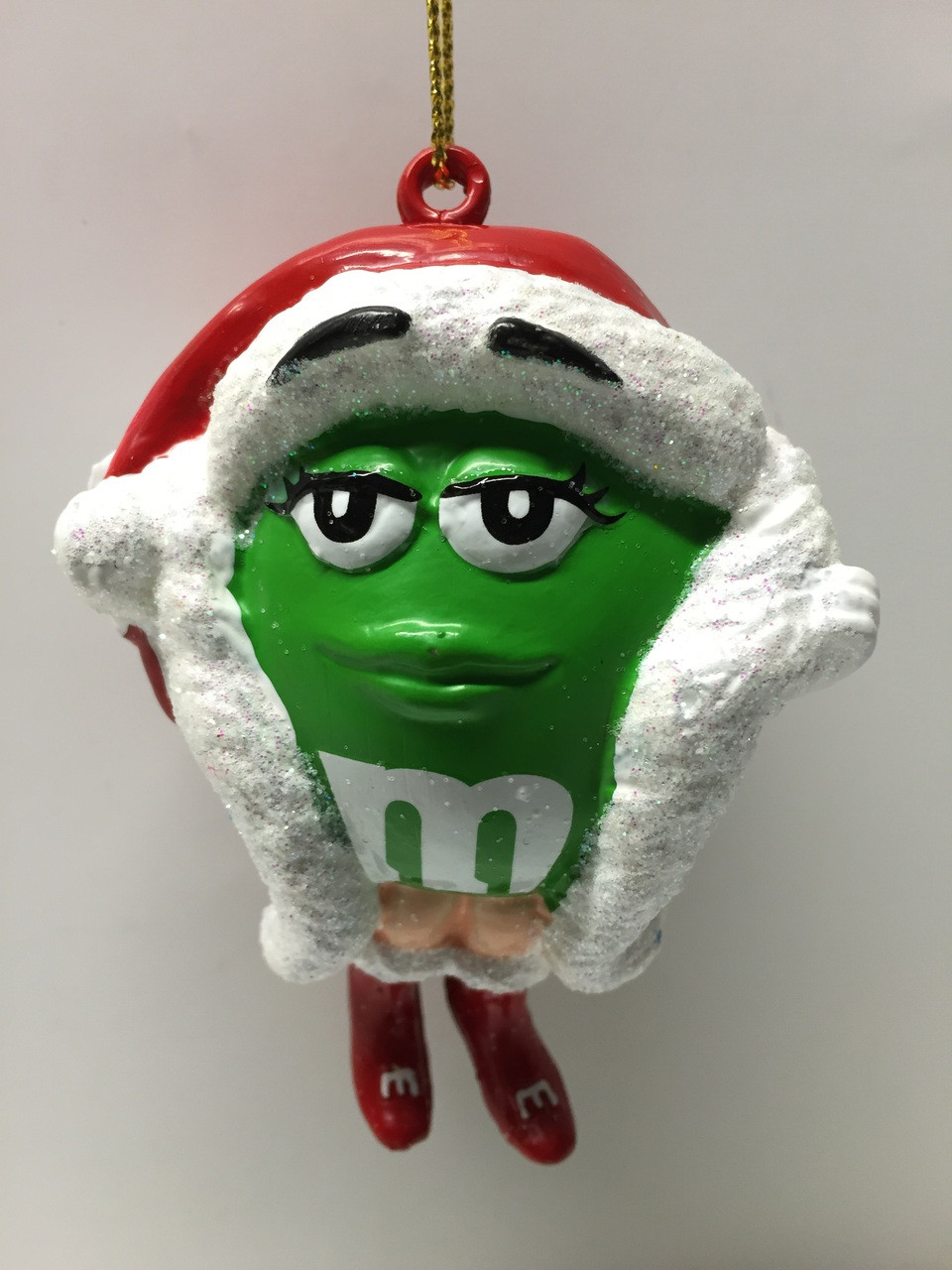 M&M Candy Green Holiday Christmas Tree Ornament - Direct ...