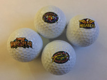IGT Logo Golf Balls Set Of Four Mega Bucks