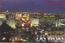 Las Vegas Strip Postcard