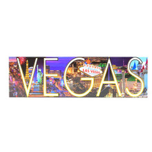 Las Vegas Panoramic Hotels Magnet