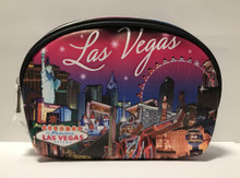 Las Vegas Strip Pink Cosmetic Bag