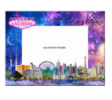 Las Vegas Strip Hotels Skyline Picture Frame