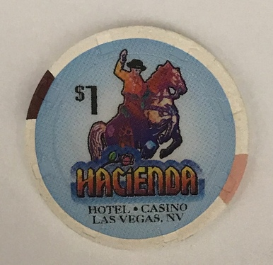 Hacienda Las Vegas $1 Casino Chip