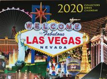 2020 13 Month Las Vegas Wall Calendar