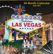 2020 2021 24 Month 2 Year Las Vegas Wall Calendar