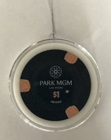 Park MGM Casino Las Vegas $1 Chip Christmas Tree Ornament