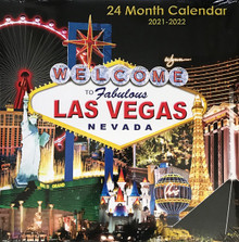 2021 2022 24 Month 2 Year Las Vegas Wall Calendar