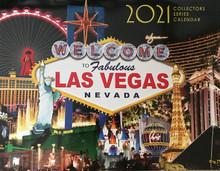 2021 13 Month Las Vegas Wall Calendar