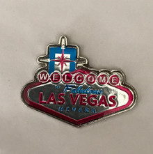 Welcome To Fabulous Las Vegas Sign Lapel Collector Pin