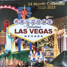 2022 2023 24 Month 2 Year Las Vegas Wall Calendar