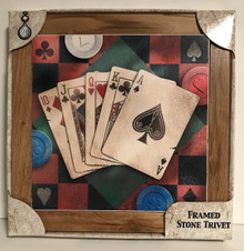 Poker Playing Cards Trivet