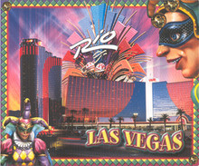 Rio Las Vegas Postcard