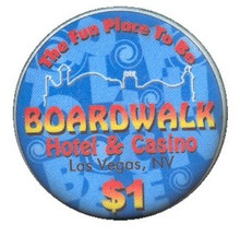 Boardwalk Las Vegas $1 Casino Chip