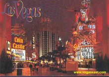 Downtown Las Vegas Postcard
