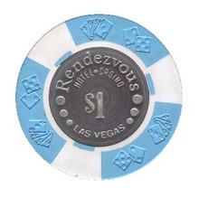 Rendezvous Las Vegas $1 Casino Chip