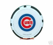 Chicago Cubs Poker Chip JCUBSBLK