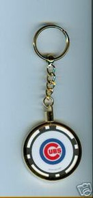 Chicago Cubs Chip Key Chain JCUBWKC