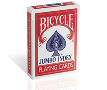 Bicycle Jumbo Playing Cards Red Deck