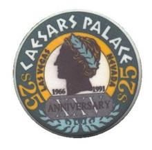 Caesars Palace Las Vegas $25 Anniversary Casino Chip