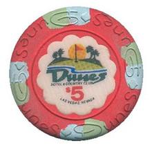 Dunes Las Vegas $5 Casino Chip