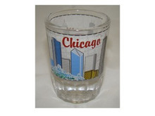 Chicago Skyline Shot Glass