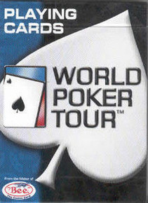 WPT World Poker Tour Diamond Back Playing Cards
