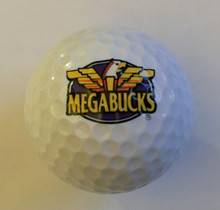 Mega Bucks IGT Slots Logo Golf Ball