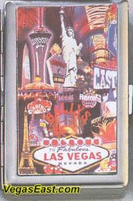 Las Vegas Cigarette Card Case