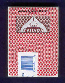 Sahara Las Vegas Playing Cards J0811VPC