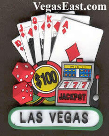 Las Vegas Slots Royal Flush Magnet