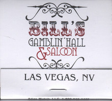 Bill's Gamblin Hall Saloon Las Vegas Matches