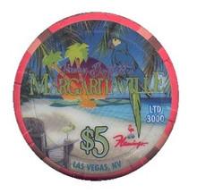 Flamingo Las Vegas $5 Casino Chip Margaritaville