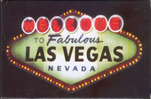 Welcome to Las Vegas Sign Playing Cards