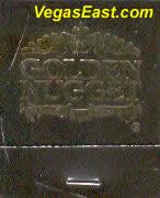 Golden Nugget Las Vegas Casino Match Book