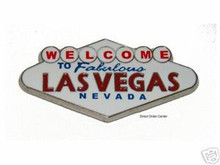 Welcome To Las Vegas Sign Magnet