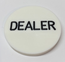 Poker Table Dealer Button