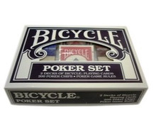 Bicycle Playing Cards Poker Set