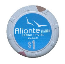 Aliante Station Las Vegas $1 Casino Chip